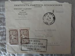 VIETNAM 1951, INSTITUT PASTEUR DE SAIGON - Viêt-Nam