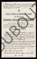 Doodsprentje Pater/Frère Edmond Joseph Geelhand °1821 Antwerpen †1893 Antwerpen (F107) - Décès