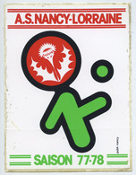 Lot 9 Autocollants A.S.Nancy.Lorraine - Autres
