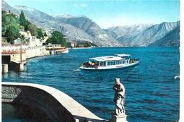 UN SALUTO DAL LAGO DI COMO 1963 - Chiatte, Barconi