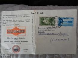 VIETNAM 1951, IMPRIME INSTITUT PASTEUR - Viêt-Nam