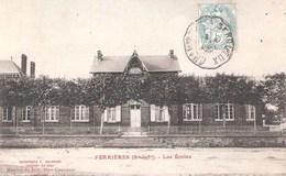 Ferrières-en-Bray (76 - Seine Maritime)   Les Ecoles - France