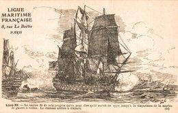 LIGUE MARITIME FRANCAISE LOUIS XV LE NAVIRE FIT DE TEL PROGRES.... - Sailing Vessels