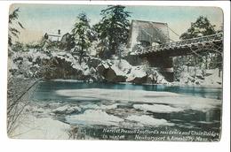 CPA - Cartes Postales-USA-Newburyport - Harriet Elizabeth Prescott Spofford 's Residence-S3987 - Boston