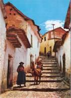 PERU CUSCO Calle Tipica Del Cusco 10(scan Recto-verso) MA1212 - Pérou