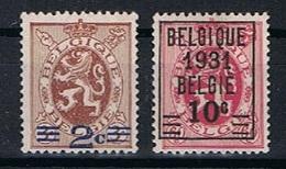 Belgie OCB 315 / 316 (*) - Belgien