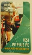 ROMANIA-CIGARETTES  CARD,NOT GOOD SHAPE-0.80 X 0.45 CM - Tabac (objets Liés)