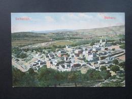 AK Um 1900 Palästina Bethanien Bethany. Ungebraucht! Panorama - Palästina