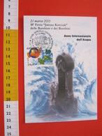 A.03 ITALIA ANNULLO - 2003 VERCELLI ANNO INTERNAZIONALE DELL' ACQUA WATER FESTA KORCZAK DEI BAMBINI MAXIMUM - Protection De L'environnement & Climat