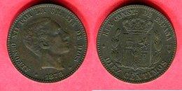 10 CENTAVOS   1878 (KM  70)  TTB + 5 - [ 1] …-1931 : Royaume