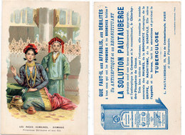 La Solution Pauitauberge - Antiseptique - Les Races Humaines - Birmanie (Princesse Birmane Et Son Fils (110534) - Publicité