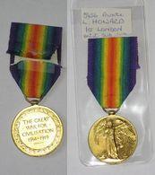 WW1, Victory, Interalliée De La Victoire, 1st LONDON Rgt, 1914 - 1918 - United Kingdom