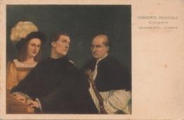 Concerto Musicale - Giorgione - Galleria Pitti. Firenze - Musei
