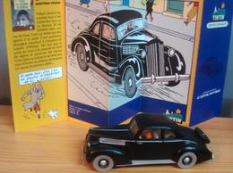 Voiture PACKARD, 1/43 Du Sceptre D'Ottockar, TINTIN - Tintin