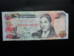 BAHAMAS : 20 DOLLARS   SÉRIE 1997   P 65a    AB - Bahamas