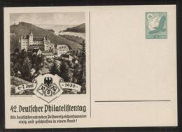 Dt. Reich - Privatganzsache/Postkarte PP 142 C 3/02 - 42. Deutscher Philatelistentag 6.-7. Juni 1936  - Ungebraucht - Deutschland