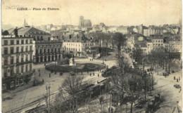 LIèGE  Place Du Théatre. - Luik