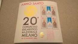 ERINNOFILI VIGNETTE CINDERELLA - ANNO SANTO 20° CONGRESSO EUCARISTICO MILANO 1983 - Erinnofilia