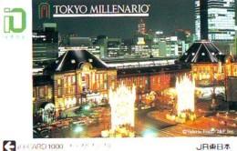 Carte Prépayée  Japon * TRAIN * JR * IO * CARD * (4813) Japan Prepaid Card * ZUG * Karte * TREIN * IO * - Trains