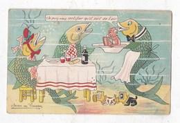 Carte Postale Illustrateur  Signer Jean Preissac - Illustrateurs & Photographes
