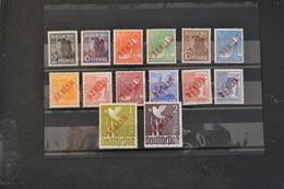 1949 GERMANIA BERLINO  Serie 1B/18B Sovrastampa Rossa  Firmata Schiefeld MINT , STL. ** Cat. 1750 € - [5] Berlin