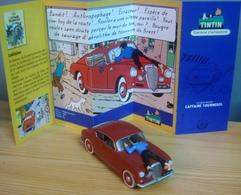 Voiture LANCIA AURELIA, 1/43 De L'Affaire Tournesol, TINTIN - Tintin