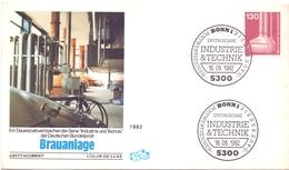 GERMANY BRAUANLAGE INDUSTRIE TECHNIK  FDC 1982 (DICE1800018) - Professioni