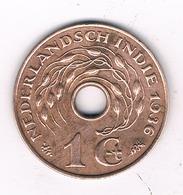 1 CENT  1936 NEDERLANDS INDIE /8494/ - Indes Néerlandaises