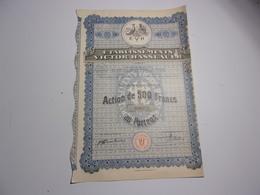 VICTOR HASSLAUER (500 Francs) 1928 - Non Classés