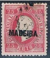 Madeira, 1871/6, # 17, Sob. A, Used - Madeira