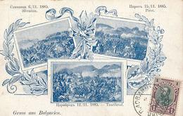 GRUSS AUS BULGARIEN - SILVNITZA - PIROT - TZARIBORD - Bulgaria
