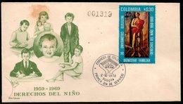 COLOMBIA- KOLUMBIEN - 1970.FDC/SPD. THE COLOMBIAN FAMILY WELFARE INSTITUTE - Colombie