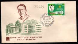 COLOMBIA- KOLUMBIEN - 1970.FDC/SPD. TERRITORIAL CREDIT INSTITUTE - Colombie