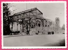 Cp Dentelée - Verwoest Rotterdam 1940 - No T Oude Beurs - Ancienne Bourse - Bombardement - Gebr. SPANJERSBERG - Rotterdam