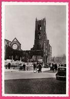 Cp Dentelée - Verwoest Rotterdam 1940 - No E Kerk Oldenbarneveldstraat - Eglise - Bombardement - Gebr. SPANJERSBERG - Rotterdam