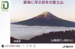 Carte Prépayée  Japon * TRAIN * JR * IO * CARD * (4824) Japan Prepaid Card * ZUG * Karte * TREIN * IO * - Trains