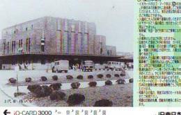 Carte Prépayée  Japon * TRAIN * JR * IO * CARD * (4826) Japan Prepaid Card * ZUG * Karte * TREIN * IO * - Trains