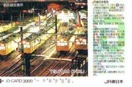Carte Prépayée  Japon * TRAIN * JR * IO * CARD * (4818) Japan Prepaid Card * ZUG * Karte * TREIN * IO * - Trains