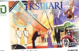 Carte Prépayée  Japon * TRAIN * JR * IO * CARD * (4823) Japan Prepaid Card * ZUG * Karte * TREIN * IO * - Trains