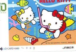 Carte Prépayée  Japon * TRAIN * JR * IO * CARD * COMIC (4829) Japan Prepaid Card * ZUG * Karte * TREIN * IO * - BD