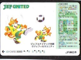 Carte Prépayée  Japon * TRAIN * JR * IO * CARD * (4830) Japan Prepaid Card * ZUG * Karte * TREIN * IO * - Trains