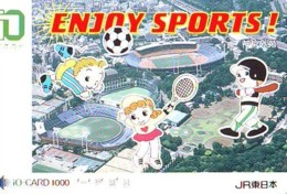 Carte Prépayée  Japon * TRAIN * JR * IO * CARD * (4832) Japan Prepaid Card * ZUG * Karte * TREIN * IO * - Trains