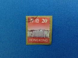1997 HONG KONG CHINA FRANCOBOLLO USATO STAMP USED - CITY 20 C - 1997-... Regione Amministrativa Speciale Della Cina