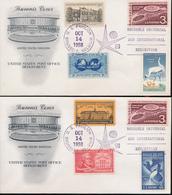 BELGIUM EXPO 58 SOUVENIR COVER US 14.10.58 - 1958 – Bruxelles (Belgique)