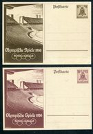"""Deutsches Reich / 1936 / Sonderpostkarten """"Olympiade"""" Mi. P 259/P260 ** (1/354) - Deutschland"""