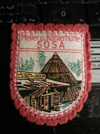 7Ogg) PATCH PEZZA IN STOFFA DA BRACCIO MEILER KOHLERHUTTE SOSA 6 X 7,5 Cm CIRCA - Ecussons Tissu