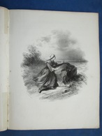 CAF CONC MARINE PIANO GF CHANT PARTITION XIX LA MÈRE DU MOUSSE ANAÏS SEGALAS ÉTIENNE ARNAUD 1850 ILL EUGÈNE LE ROUX - Autres