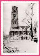 Cp Dentelée - Verwoest Rotterdam 1940 - No O Gr. Kerk Vanaf Groote Markt - Eglise - Bombardement - Gebr. SPANJERSBERG - Rotterdam
