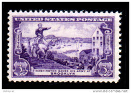 United States  1951, Scott # 1003, Battle Of Brooklyn , 3c MNH This Is A Stock Photo - United States