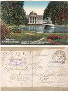 """WIESBADEN - Kurhaus Und Anlagen - La Salle De Réunion Et La Promenade - Cachet """"Trésor Et Postes 180""""  (110548) - Allemagne"""